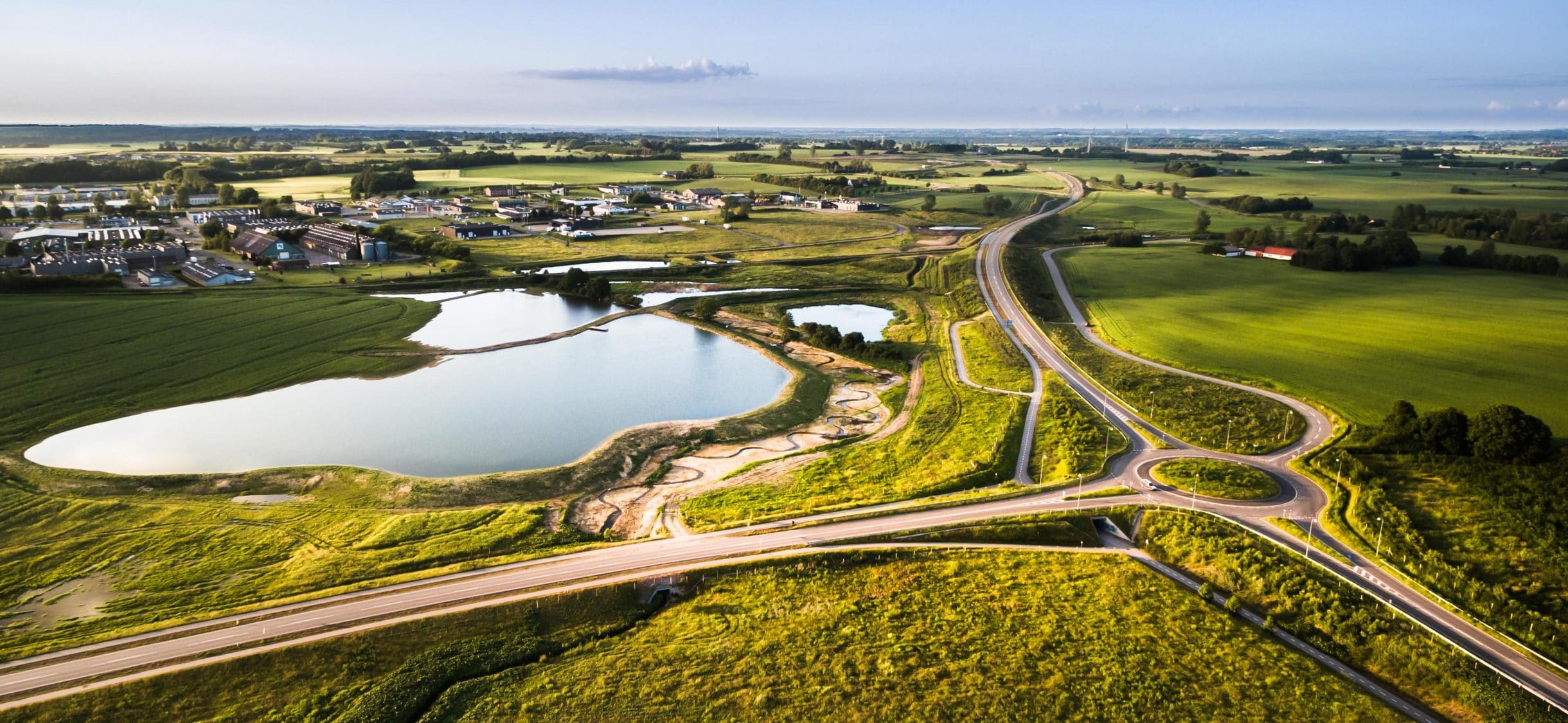Den nye omfartsvej i Næstved