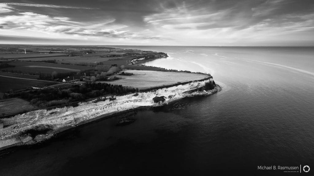 The Unesco herritage site Stevns Klint Denmark 2017