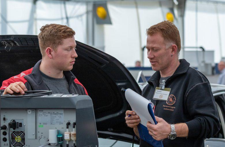 Au2parts Næstved leverede værktøj, lifte og udstyr til Skills 2019 i Næstved