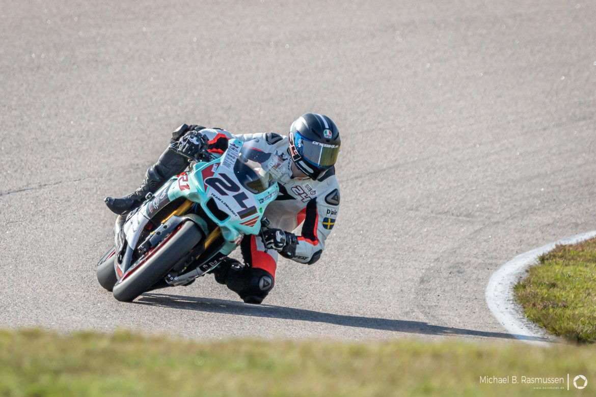 Joakim Linhardt on Anderstorp Raceway SM 7-8 September 2019