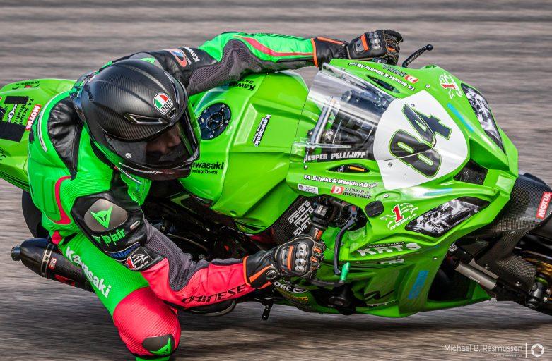 Jesper Pellijeff at Anderstorp raceway 7-8th sept 2019